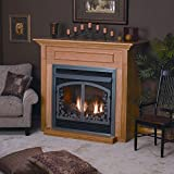 Empire Comfort Systems EMBF-1S-DO Dark Oak Standard Cabinet Mantle wit