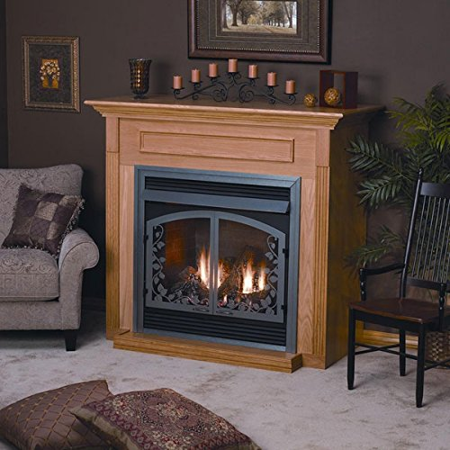 1s Fireplace (Empire Comfort Systems EMBF-1S-UH Unfinished Hardwood Standard Cabinet)