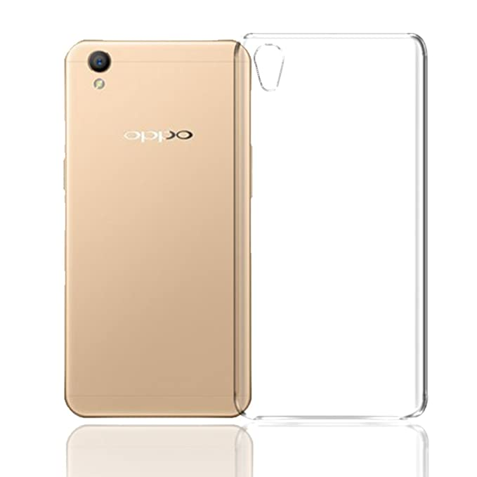 Deltakart Back Cover for Oppo A37 Transparent  Soft  Mobile Accessories