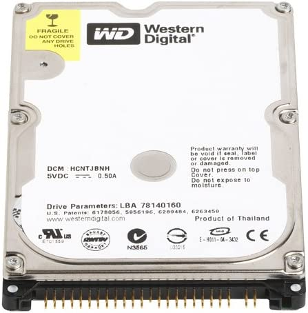 Western Digital WD3200BEVE Scorpio Blue - Disco Duro Interno de ...