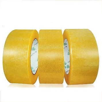 Cinta transparente resistente para paquetes y caja 3 rollos por paquete 5.5cm * 1.5cm Cinta de embalaje marrón para paquetes y cajas.: Amazon.es: Bricolaje y herramientas