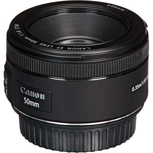 Canon EF 50mm f/1.8 STM Lens with USA Warranty + Filter Kit + Tripod + Lens Cleaning Pen + Accessory Bundle by The Imaging World (Image #8)