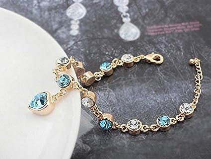 e1f3de28d535 SunnyGod Pulsera de Moda Preciosa Leng Elegante Bonita Pulsera Joyas ...