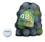 Second Chance Pinnacle 48 Quality Lake Golf Balls Grade A