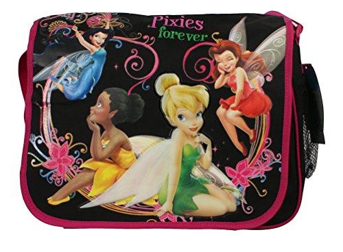 Disney Tinker Bell Large Messenger Bag with Water holder