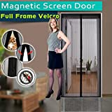 Image of Noiseless Magnetic Screen Door, Mesh Curtain - Mosquito Net Keeps Bugs Out, Lets Cool Breeze In - Premium Quality - Toddler And Pet Friendly - Fits Doors Up To 34-Inch-by-82-Inch MAX