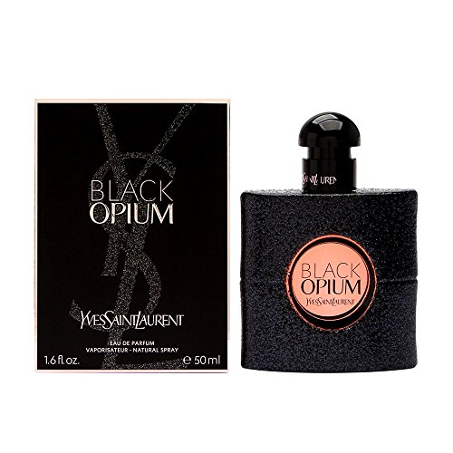 Yves Saint Laurent Eau De Parfum Spray for Women, Black Opium, 1.6 - Yves Saint Perfume By Vanilla Laurent Opium