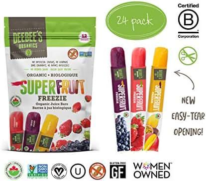 Popsicles: DeeBee's Super Fruit Freezie