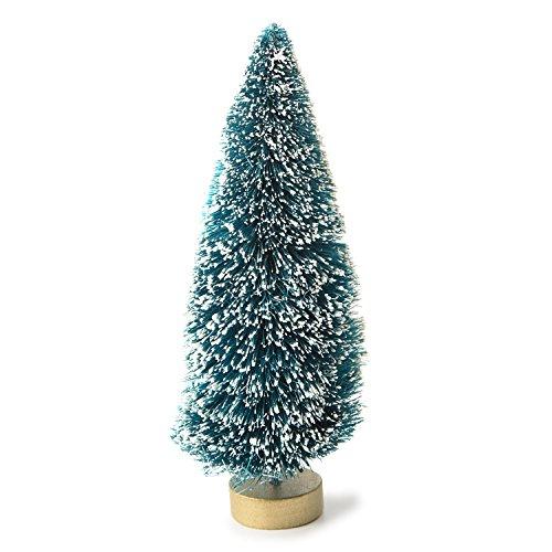 Darice–Plantilla para grabar en relieve 1pieza de sisal árbol con las heladas, Verde