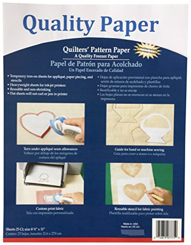 Quality Paper Quilter Pattern Paper
