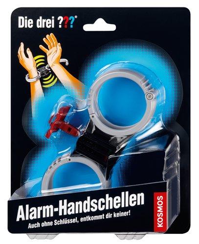 KOSMOS 631291 Die drei ??? Alarm-Handschellen Detektiv - Privatdetektiv Geschenkbox Non Books Privatdetektiv ( Detektiv )