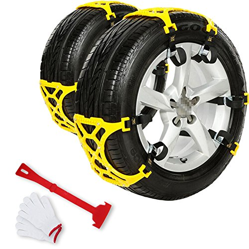 Welove Anti Slip Snow Tire Adjustable Chains For Vehicles