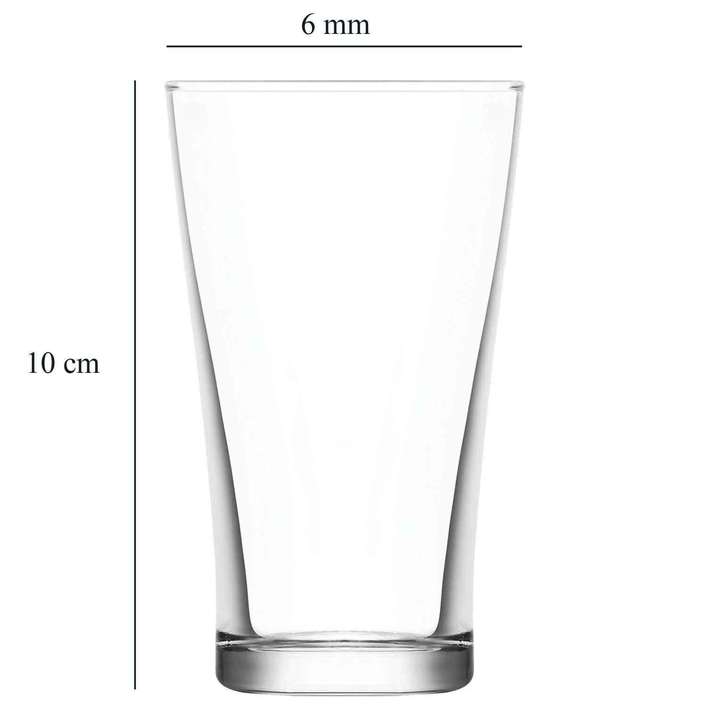 sp/ülmaschinenfest LAV 6 teiliges Wassergl/äser-SetSerie JOY 140 ml Tinkgl/äser Gl/äser