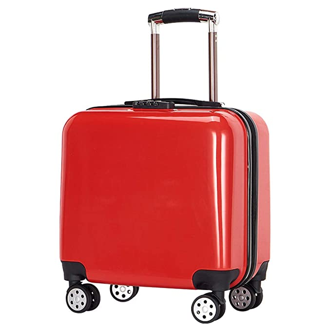 e3b45e61a HWYP Maleta de viaje con equipaje para niños Bolso de mano Bolsa de viaje  Estirador de mano Carretilla de mano liviana con ruedas de 17 litros:  Amazon.es: ...
