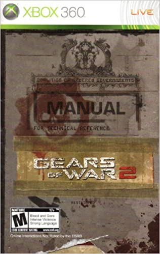 Gears of War 2 XBox 360 Instruction Booklet (Microsoft XBox ... on