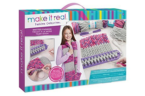 Best knitting kit for kids. by. hand
