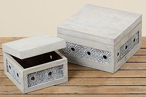 Caja Lindsay Cajas Madera Cajas Metal Cajas Deko Caja – Joyero ...