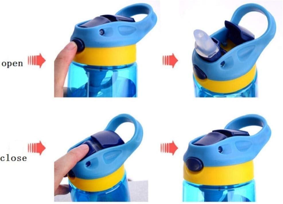 Baby-trinkflaschen Infant Newborn Cup Kinder Lernen F/üttern Straw Saft Trinkflasche Bpa-frei F/ür Kinder 500ml