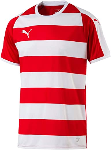 Puma Liga Jersey Hooped Jersey T Shirt