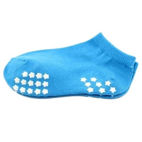 8 pares de calcetines antideslizantes para bebés recién nacidos Calcetines de bebé calcetines 9-12