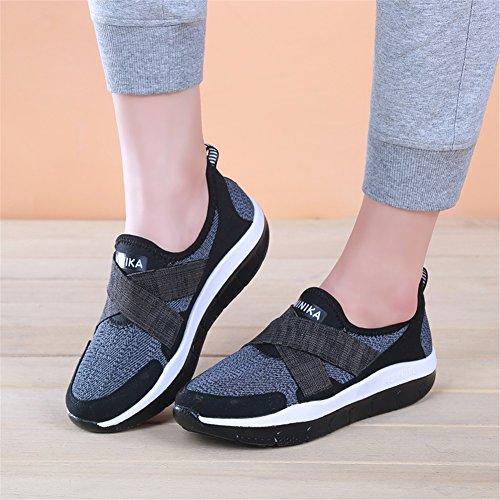 da Primavera Superficiale donna Sneakers Fitness Scarpe To Estate Shoes Scarpe Tacco Bocca piatto antiscivolo Novità B Shoes Shake Help SHINIK Shaking Low traspiranti vFI5qE