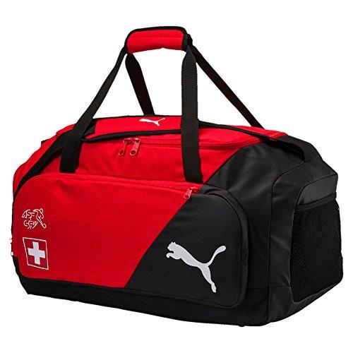 Puma Swiss Liga M Funda, Red de Puma Puma White, 58 x 33 x 3.5 cm 58x 33x 3.5cm 75309 01