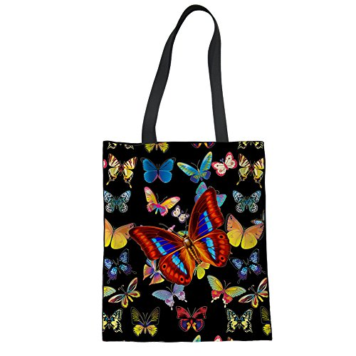 for Color 8 Bags Advocator Tote Travel Beach Casual Holiday Stylish Handbag Women Print Bag Shopping for 4ZZnUw60x