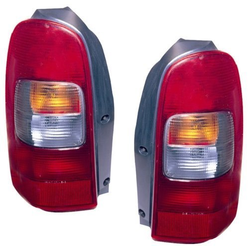 - 1997-2005 Chevy Venture Tail Light (1998 1999 2000 2001 2002 2003 2004 97 98 99 00 01 02 03 04 05) - One Pair(Both Driver and Passenger Sides) - DOT Certified Tail Light