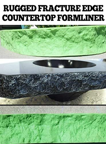 CONCRETE COUNTERTOP EDGE FORM LINERS - Rugged