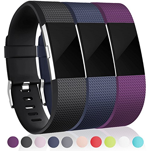 [해외]말리판 대체 밴드 Fitbit Charge 2, 3 Pack/Maledan Replacement Bands for Fitbit Charge 2, 3 Pack