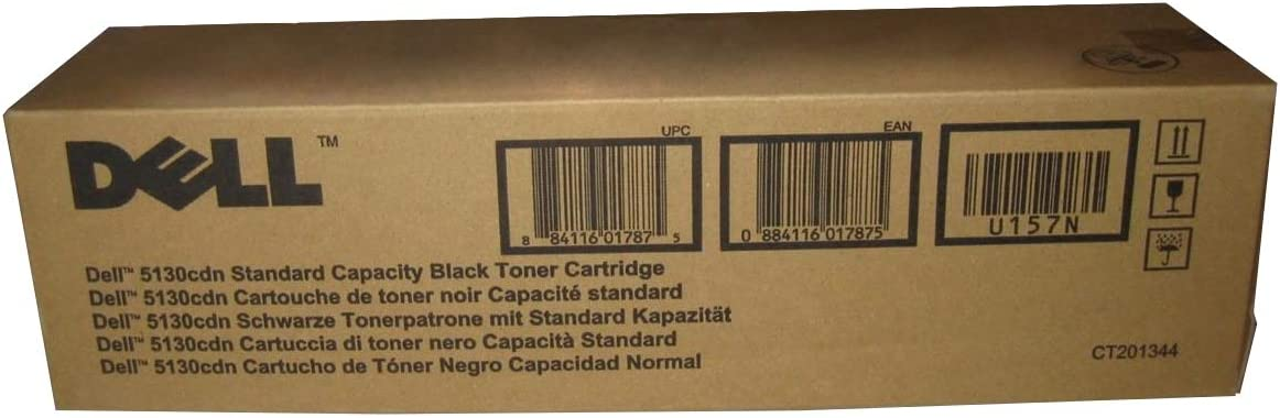 Dell U157N Black Toner Cartridge 5130cdn Color Laser Printer
