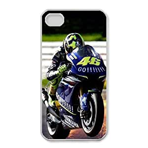 iphone4 4s Phone Case White Valentino Rossi HUX310196