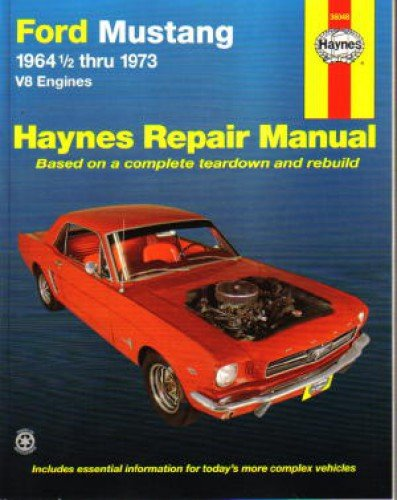 1968 Ford Mustang Auto (H36048 1964-1973 Ford Mustang V8 Haynes Auto Repair)