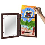 Americanflat Mahogany Kids Artwork Picture Frame