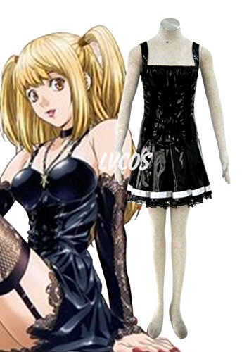 Cosplay Costume Fur one-piece dress of Amane Misa in Death (Misa Death Note Cosplay Costume)