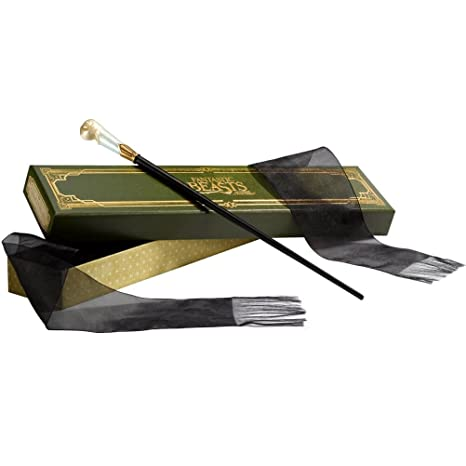 The Wand Of Queenie Goldstein With Collector's Box by The Noble Collection