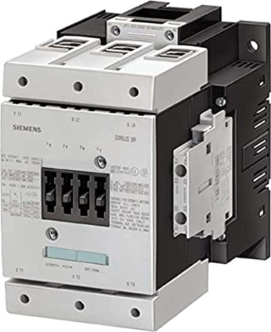 Siemens 3RT1064-6AP36 Contactor, rated at 225 A,