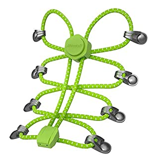 HOMAR No Tie Shoelace with Locks for Kids and Adults - Solid Colors Round Dress Shoe Lace One Size Fits All
