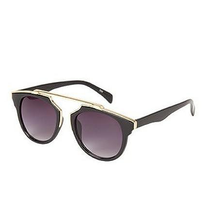12f41586d2 Amazon.com   Aldo Bonadomane Glasses -Black and Gold   Everything Else