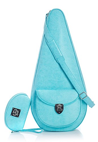 Court Couture Barcelona Turquoise Tennis Bag/Sling Bag