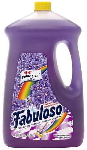 Colgate Cleaner Palmolive (Fabuloso All-Purpose Cleaner, Lavender Fragrance,  90 Ounce (Case of 6 Bottles) 153057)