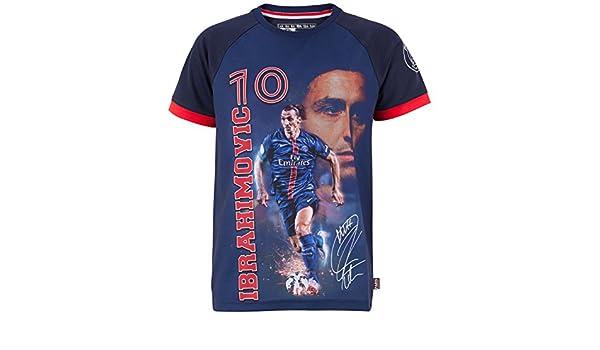 Equipo de fútbol PARIS SAINT-GERMAIN-Camiseta de Zlatan ...