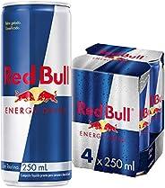 Energético Red Bull Pack com 4 unidades de 250ml