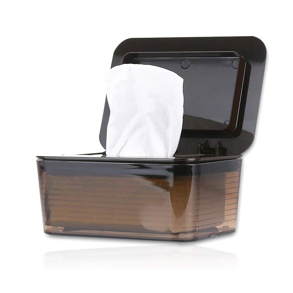 Wet Wipes Dispenser Holders Tissue Storage Box Case with Lid Household Supplies