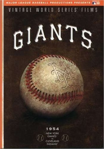 MLB Vintage World Series Films - New York Giants 1954 by A&E Home Video