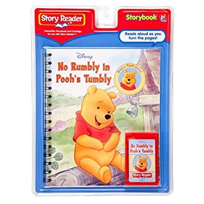 Story Reader Disney Book and Cartridge: No Rumbly in Pooh\'s Tumbly by Disney: Toys & Games [5Bkhe0505988]