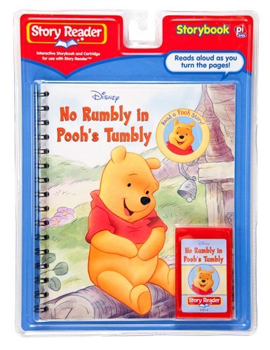 Story Reader Disney Book and Cartridge: No Rumbly in Pooh's Tumbly by Disney by Brand: Publications International, Ltd. (Image #1)