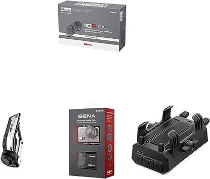Sena Auricular e intercomunicador Bluetooth + Handlebar Remote ...