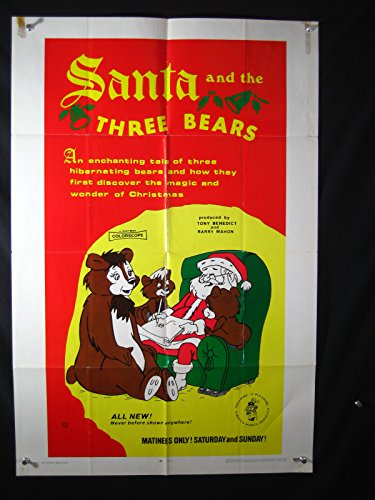 SANTA AND THE THREE BEARS-1970-ONESHEET-HAL SMITH-JEAN VANDER PYL-ANIMATION VG]()