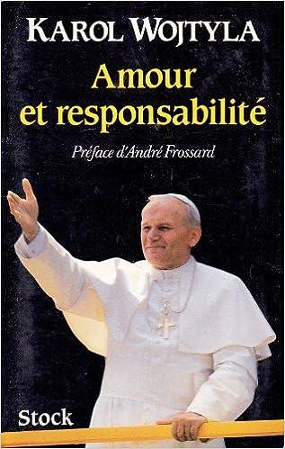 Livres gratuits Amour et responsabilité pdf